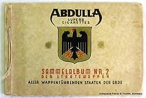 der Staatswappen aller wappenführenden Staaten der Erde.: Abdulla Superb Cigarettes: