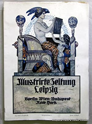 """Kriegsnummer"""" 1 - 8 (""""Neudruck"""") in 8: Leipziger) Illustrirte Zeitung."""