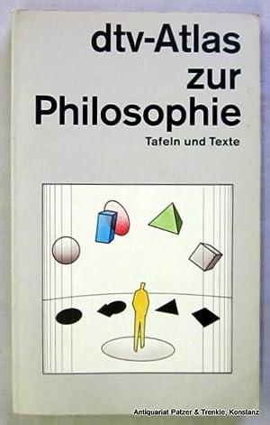 dtv-Atlas zur Philosophie. Tafeln u. Texte. 2.: Kunzmann, Peter, Franz-Peter