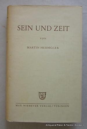 Sein und Zeit. 7. Auflage. Tübingen, Niemeyer,: Heidegger, Martin.