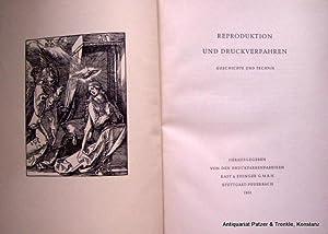 Geschichte und Technik. Hrsg. von den Druckfarbenfabriken: Reproduktion und Druckverfahren.