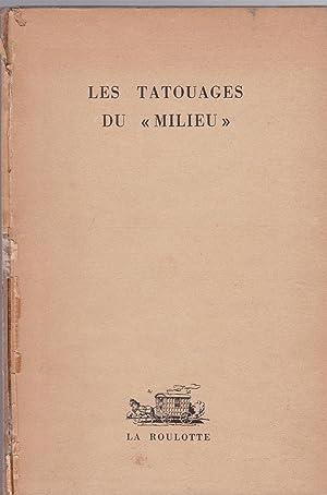 "Les Tatouages du ""Milieu"": Jacques Delarue, Robert"