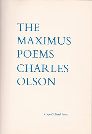 The Maximus Poems: Olson, Charles