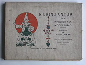 Klein-Jantje en de kinderen van modderstad: Wildvanck, Johanna, tekeningen