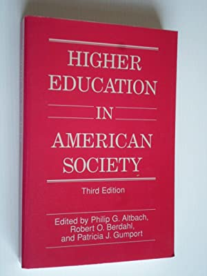 Higher Education in American Society