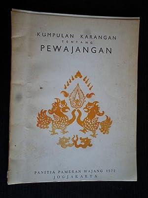 Kumpulan Karangan Tentang Pewajangan: comprising of four