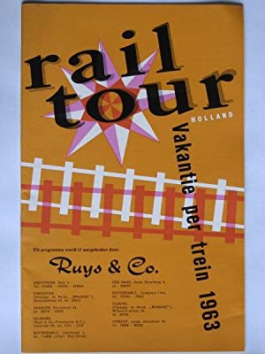 Railtour 1963 van de Fa.Ruys & Co