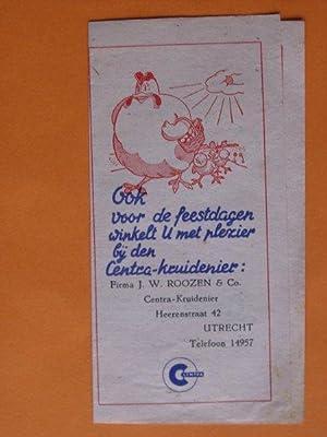 Centra-kruidenier J.W.Roozen, Utrecht