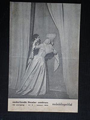Nederlands Theater Centrum Mededelingenblad