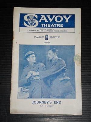 Programmaboekje Savoy Theatre, London