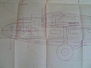 Blueprint Fokker F XXXVI