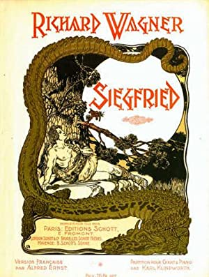 Siegfried. Version française par Alfred Ernst. Partition pour chant & piano par Karl Klindworth