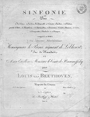 Op. 67] Sinfonie pour 2 violons, 2: Beethoven, Ludwig van: