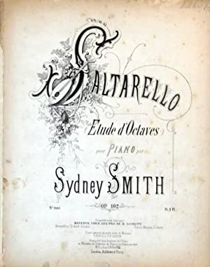 Op. 102] Saltarello. Etude d`octaves pour piano.: Smith, Sydney: