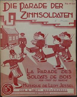 Die Parade der Zinnsoldaten. La parade des: Jessel, Léon: