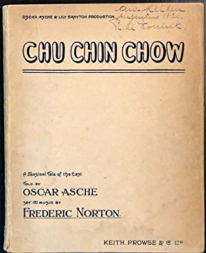 Chu chin chow. A musical tale of the east. Told by Oscar Asche. Vocal score