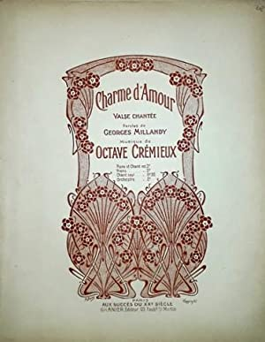 Charme d`amour. Valse chantée. Piano & chant