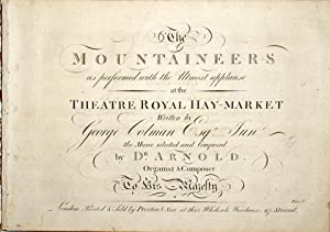 The mountaineers as performed with the utmost applause at the Theatre Royal Hay-Market. Written b...
