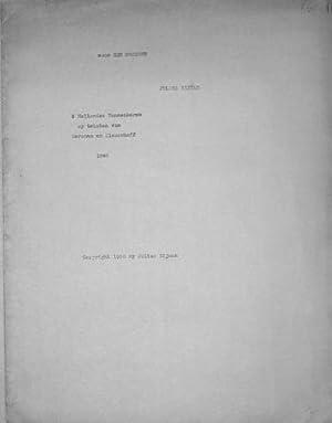 5 Hollandse mannenkoren op teksten van Marsman: Hijman, Julius: