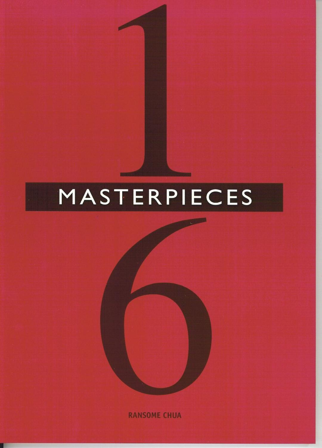 1/6TH MASTERPIECES (1: 6 SCALE FIGURES) (SIGNED COPY): Chua, R.