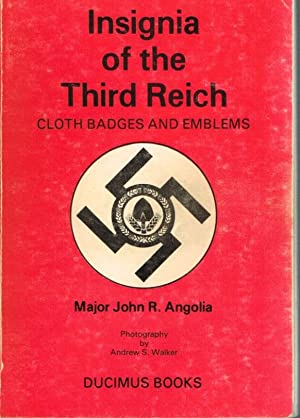 INSIGNIA OF THE THIRD REICH: CLOTH BADGES: Angolia, J. R.