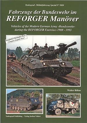 VEHICLES OF THE MODERN GERMAN ARMY -: Bohm, W.