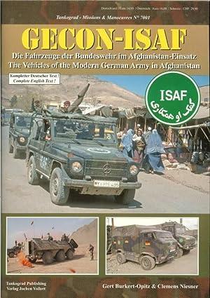GECON-ISAF: THE VEHICLES OF THE MODERN GERMAN ARMY IN AFGHANISTAN: Burkert-Opitz, G. & Niesner, C.