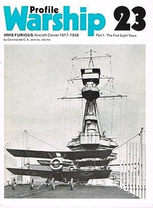 PROFILE WARSHIP 23: HMS FURIOUS / AIRCRAFT: Jenkins, C. A.