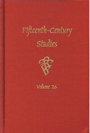 FIFTEENTH-CENTURY STUDIES VOLUME 26: Dubruck, E. E.
