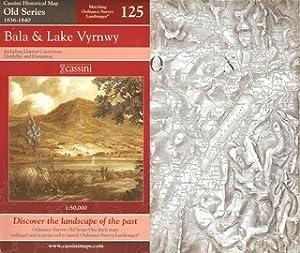 BALA & LAKE VYRNWY, including Llanfair Caereinion,: Ordnance Survey Map.