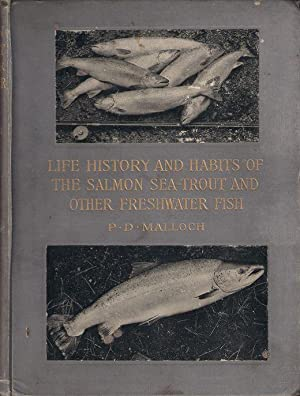 LIFE-HISTORY AND HABITS OF THE SALMON, SEA-TROUT,: Malloch (Peter Donald).