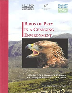 BIRDS OF PREY IN A CHANGING ENVIRONMENT.: Thompson (D.B.A.) and