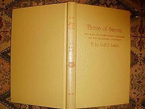 Mathematics Useful for Understanding Plato: Smyrna, Theon