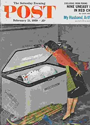 The Saturday Evening Post. Feb. 21, 1959: Kelland, Clarence Budington;