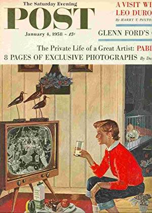 The Saturday Evening Post. Jan. 4, 1958: Catalami, Vicki; Riley,
