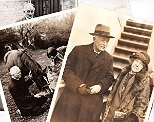 Three original press photos from 1930-1933.: MASEFIELD, John