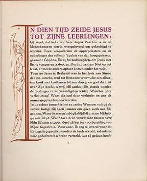 Lijdensverhaal van Onzen Heer Jesus Christus.: MATTHEUS, S.