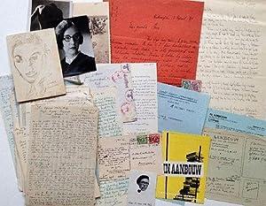 Huge archive regarding the Dutch pre-war literary: IN AANBOUW