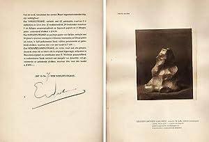 Erich Wichman tot 1920. Afbeeldingen en geschriften. Met een inleiding van Dr. W. Vogelsang. (...