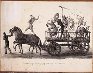 Optogt gehouden door de heeren Studenten der Leydsche Hoogeschool op den 9 February 1835. ...