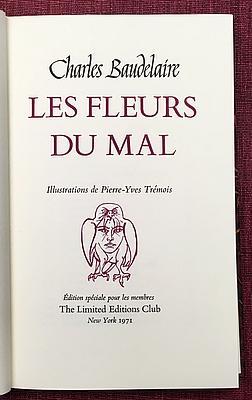 Les Fleurs du Mal - The Flowers: BAUDELAIRE, Charles