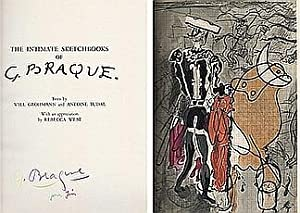 The intimate sketchbooks of G. Braque. (Carnets: BRAQUE, Georges