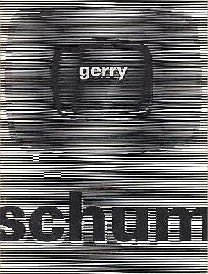 Gerry Schum. (Exhibition catalog, bilingual).: SCHUM, Gerry