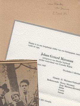 Verzen. (Met een houtsnede van Erich Wichman op het omslag). (Gesigneerd met opdracht van de ...