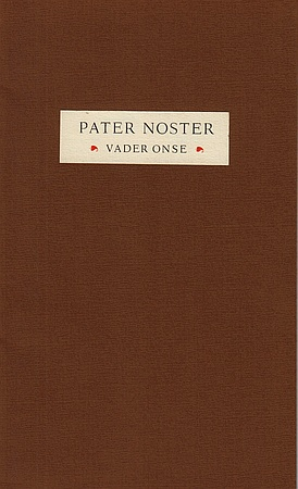 Pater noster. In Dietsche.: CARLINAPERS