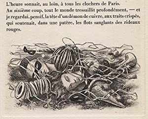 Trois contes cruels. Eaux-fortes de Jean-Paul Vroom. (With 15 original etchings by Jean-Paul Vroom).