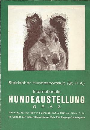 Konvolut von 4 Hundebücher: 1). Steirischer Hundesportklub: Hunde
