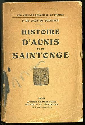 histoire d'aunis et de saintonge Signé AbeBooks