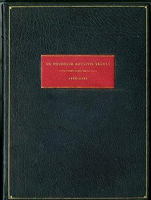 Liber Cypriani de duodecim abusionum gradibus: Pseudo - Aurelius