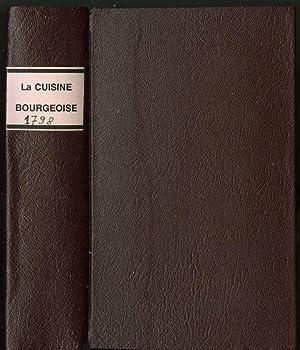 La Cuisiniere Bourgeoise, Suivie de L'Office, A: Menon